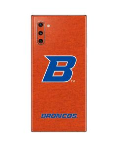 Boise State Logo Orange Galaxy Note 10 Skin