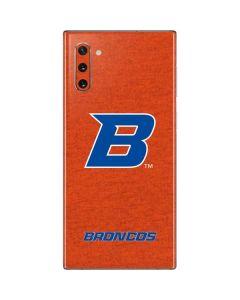 Boise State Logo Orange Galaxy Note 10 Skin