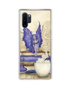 Bookworm Fairy Galaxy Note 10 Plus Clear Case