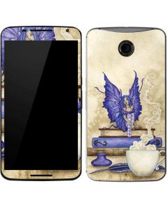Bookworm Fairy Google Nexus 6 Skin