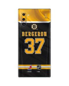Boston Bruins #37 Patrice Bergeron Galaxy Note 10 Skin