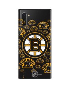 Boston Bruins Blast Galaxy Note 10 Skin