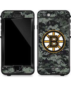 Boston Bruins Camo LifeProof Nuud iPhone Skin