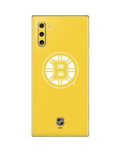 Boston Bruins Color Pop Galaxy Note 10 Skin