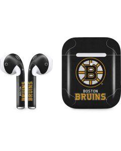 Boston Bruins Distressed Apple AirPods 2 Skin
