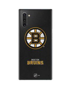 Boston Bruins Distressed Galaxy Note 10 Skin