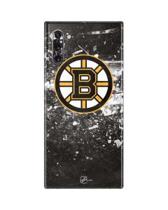 Boston Bruins Frozen Galaxy Note 10 Skin