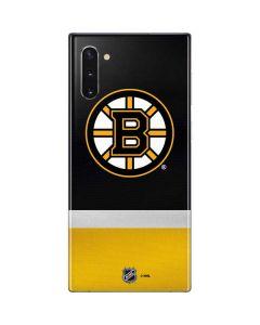 Boston Bruins Jersey Galaxy Note 10 Skin