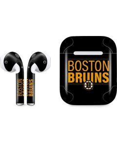 Boston Bruins Lineup Apple AirPods Skin