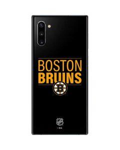Boston Bruins Lineup Galaxy Note 10 Skin
