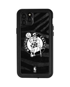 Boston Celtics Black Animal Print iPhone 11 Pro Max Waterproof Case