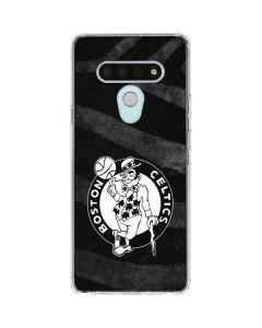 Boston Celtics Black Animal Print LG Stylo 6 Clear Case