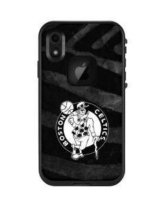 Boston Celtics Black Animal Print LifeProof Fre iPhone Skin
