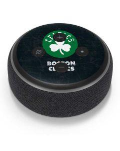 Boston Celtics Black Secondary Logo Amazon Echo Dot Skin