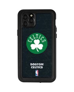 Boston Celtics Black Secondary Logo iPhone 11 Pro Max Waterproof Case