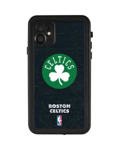 Boston Celtics Black Secondary Logo iPhone 11 Waterproof Case