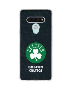 Boston Celtics Black Secondary Logo LG Stylo 6 Clear Case