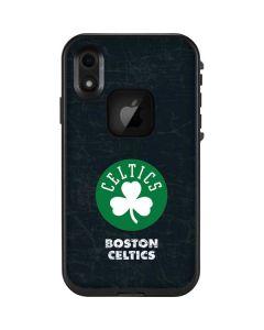 Boston Celtics Black Secondary Logo LifeProof Fre iPhone Skin