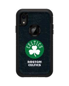 Boston Celtics Black Secondary Logo Otterbox Defender iPhone Skin