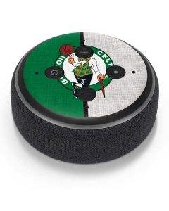 Boston Celtics Canvas Amazon Echo Dot Skin