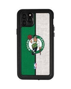 Boston Celtics Canvas iPhone 11 Pro Max Waterproof Case