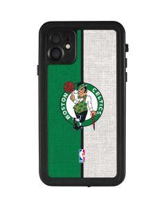 Boston Celtics Canvas iPhone 11 Waterproof Case