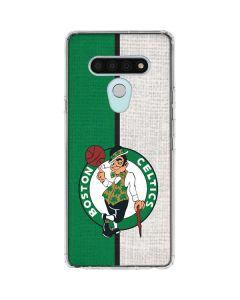 Boston Celtics Canvas LG Stylo 6 Clear Case