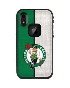 Boston Celtics Canvas LifeProof Fre iPhone Skin
