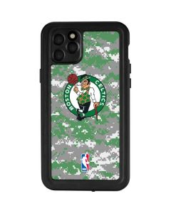 Boston Celtics Digi Camo iPhone 11 Pro Max Waterproof Case