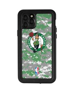 Boston Celtics Digi Camo iPhone 11 Pro Waterproof Case