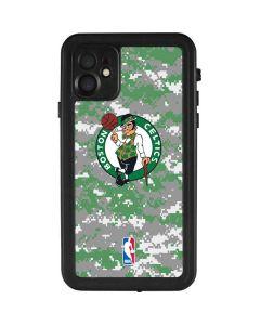 Boston Celtics Digi Camo iPhone 11 Waterproof Case