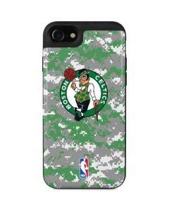 Boston Celtics Digi Camo iPhone SE Wallet Case