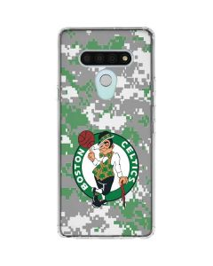 Boston Celtics Digi Camo LG Stylo 6 Clear Case