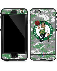 Boston Celtics Digi Camo LifeProof Nuud iPhone Skin