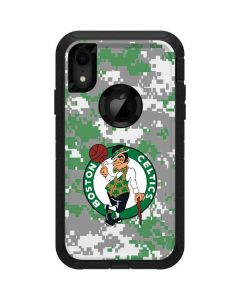 Boston Celtics Digi Camo Otterbox Defender iPhone Skin