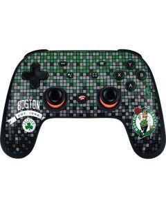 Boston Celtics Digi Google Stadia Controller Skin