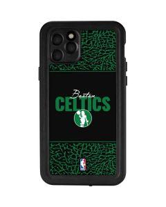 Boston Celtics Elephant Print iPhone 11 Pro Waterproof Case