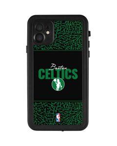 Boston Celtics Elephant Print iPhone 11 Waterproof Case