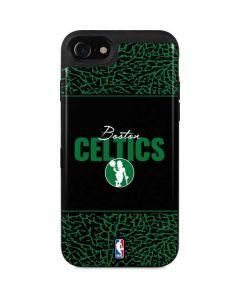 Boston Celtics Elephant Print iPhone SE Wallet Case