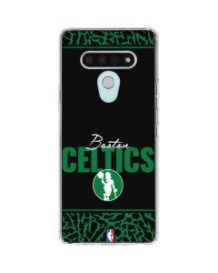 Boston Celtics Elephant Print LG Stylo 6 Clear Case
