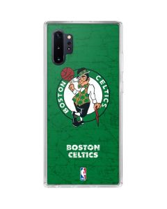 Boston Celtics Green Primary Logo Galaxy Note 10 Plus Clear Case