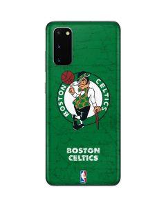 Boston Celtics Green Primary Logo Galaxy S20 Skin