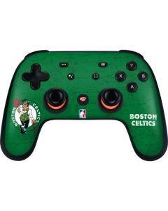 Boston Celtics Green Primary Logo Google Stadia Controller Skin