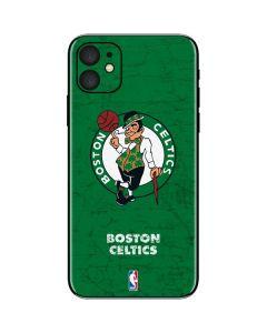 Boston Celtics Green Primary Logo iPhone 11 Skin