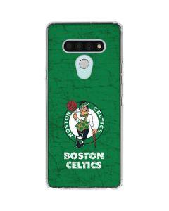 Boston Celtics Green Primary Logo LG Stylo 6 Clear Case