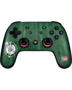 Boston Celtics Hardwood Classics Google Stadia Controller Skin