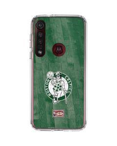 Boston Celtics Hardwood Classics Moto G8 Plus Clear Case