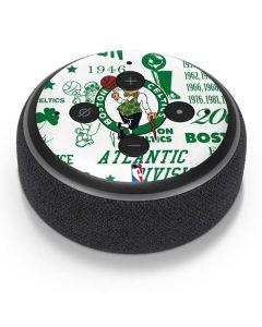 Boston Celtics Historic Blast Amazon Echo Dot Skin