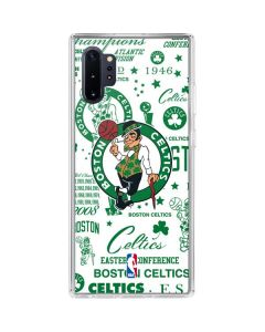 Boston Celtics Historic Blast Galaxy Note 10 Plus Clear Case