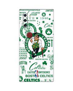 Boston Celtics Historic Blast Galaxy Note 10 Skin